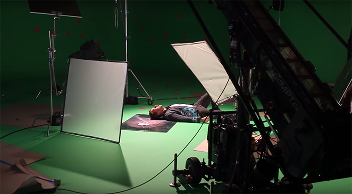 "Making of del video de Coldplay ""Up&Up"""