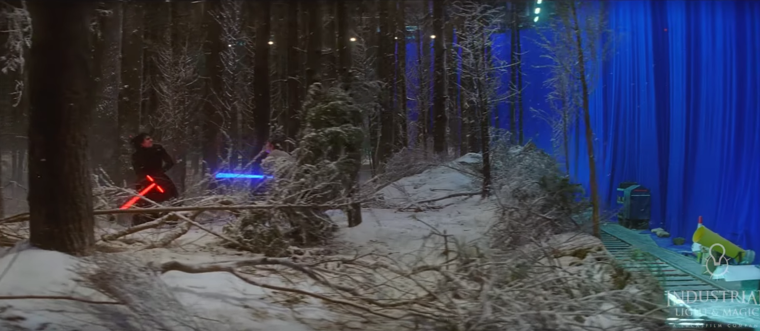 Behind the scene – star wars VII The Force Awakens