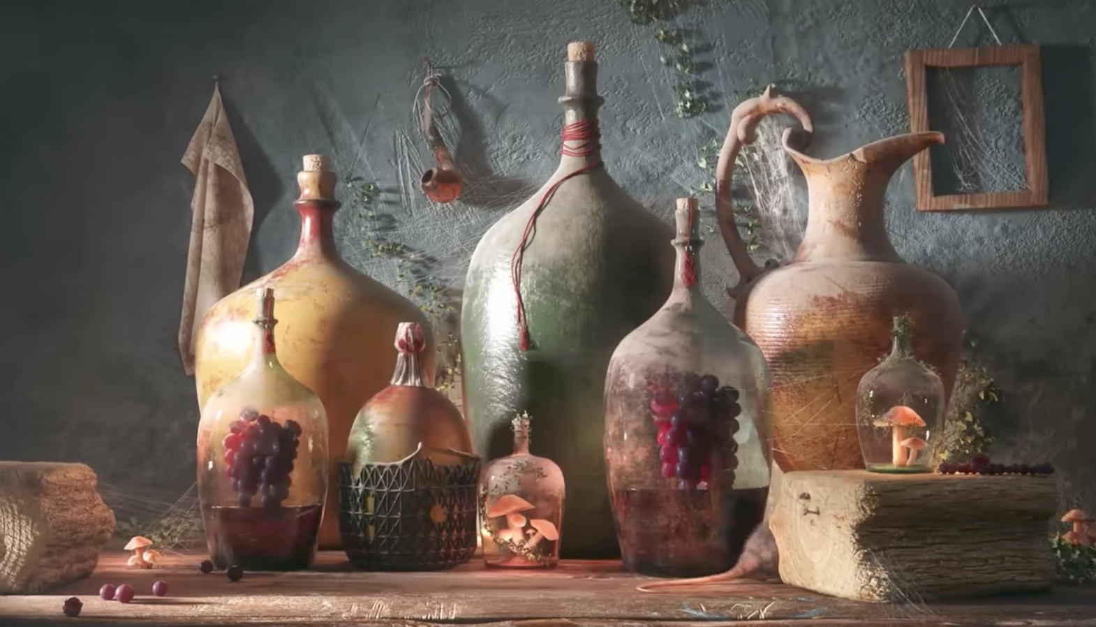 """Bottles of life"" by Farid Ghanbari – Making of"