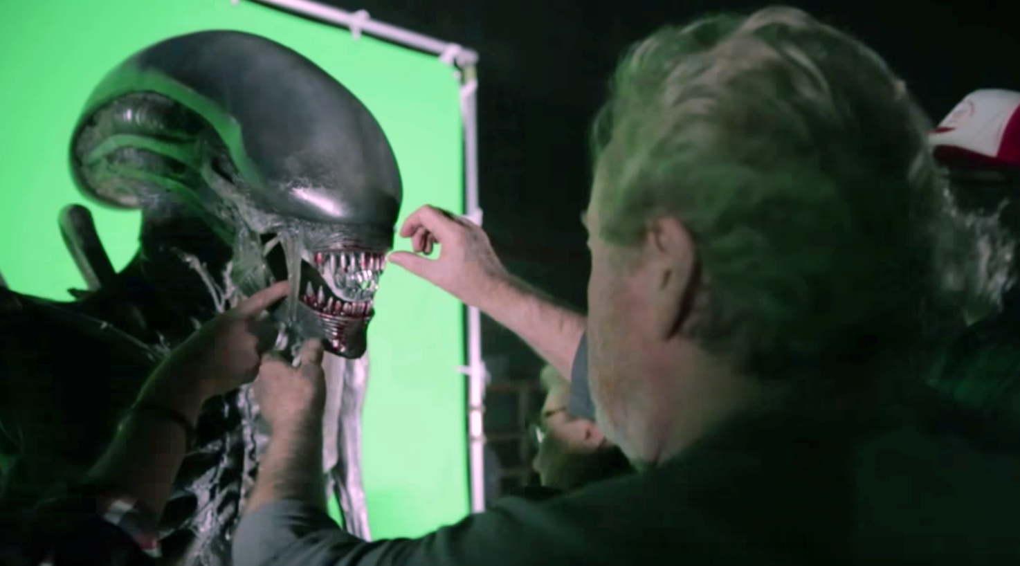 Alien: Covenant – making of by ADAM SAVAGE