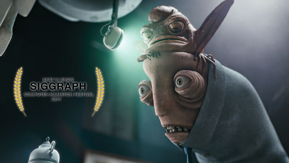 "Song of a toad – ganador ""siggraph best in show"""