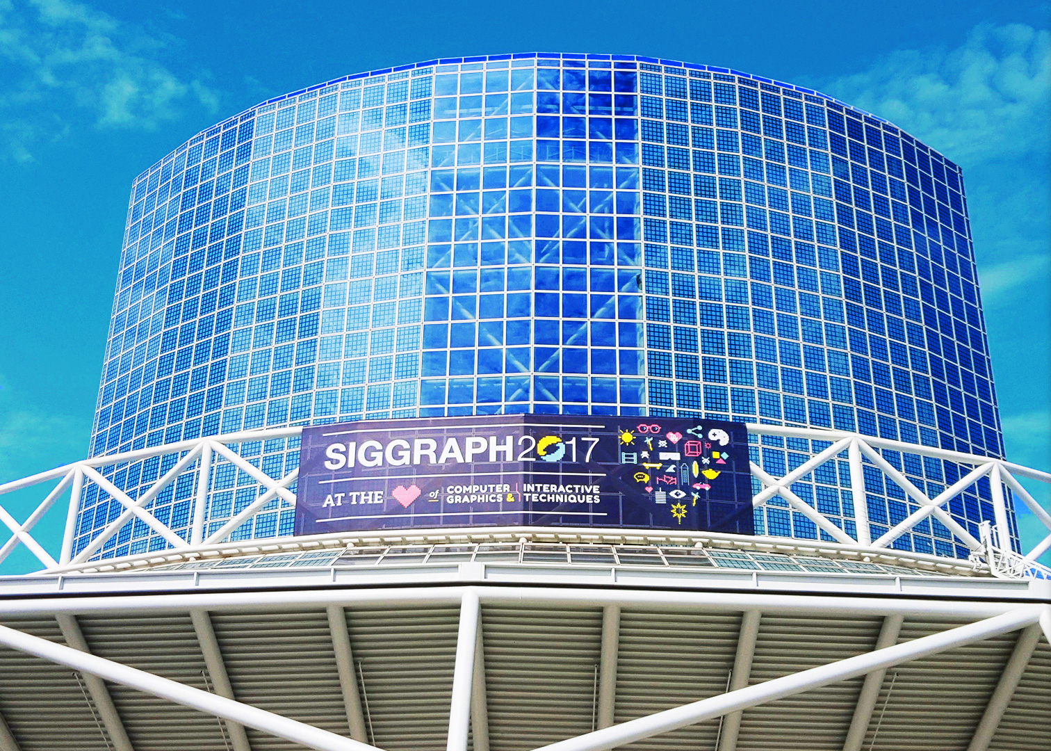 Siggraph 2017 – 360º  video recorrido