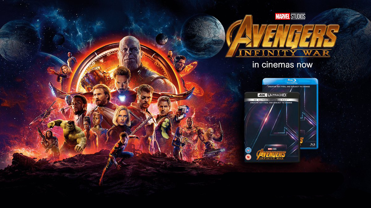 Avengers: Infinity war – Making of y extra clip del bluray