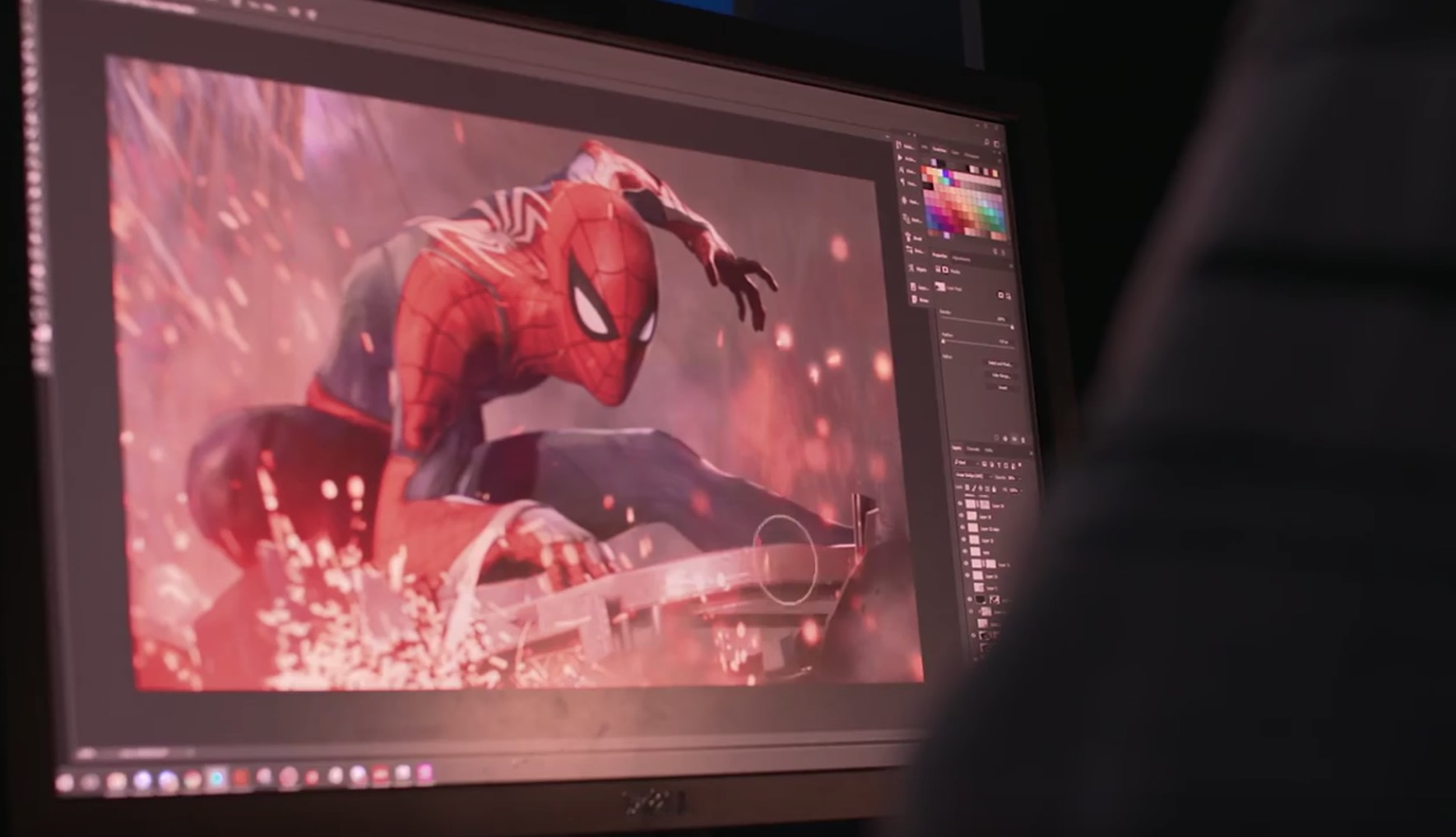 Marvel Spiderman ps4 – making of