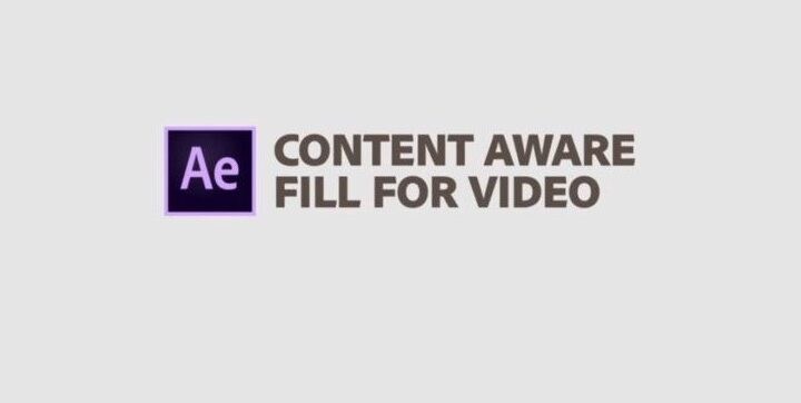 Adobe After Effects 2019 – Content-Aware Fill – La Nueva Herramienta para remover material de un video